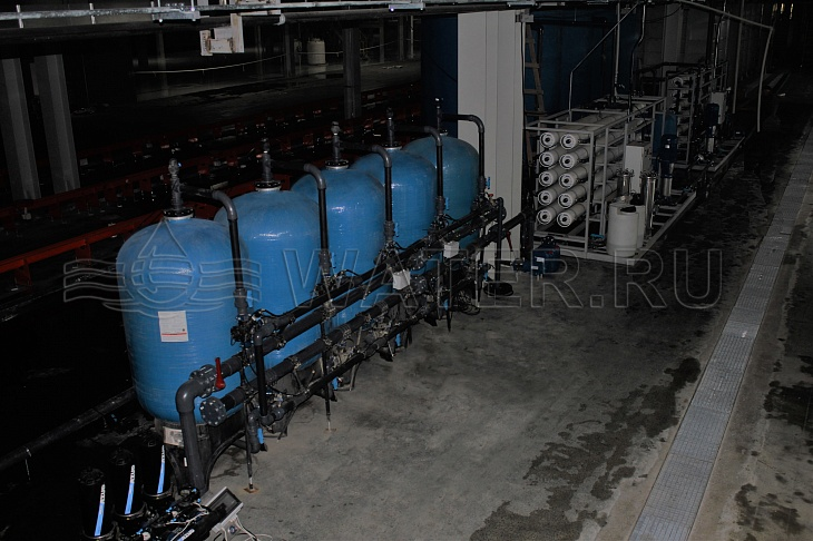 автоматическая система сорбции и дехлорирования hydra filter ect 42х5